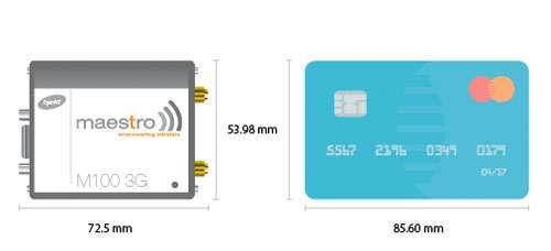Kompakt modem med 3G