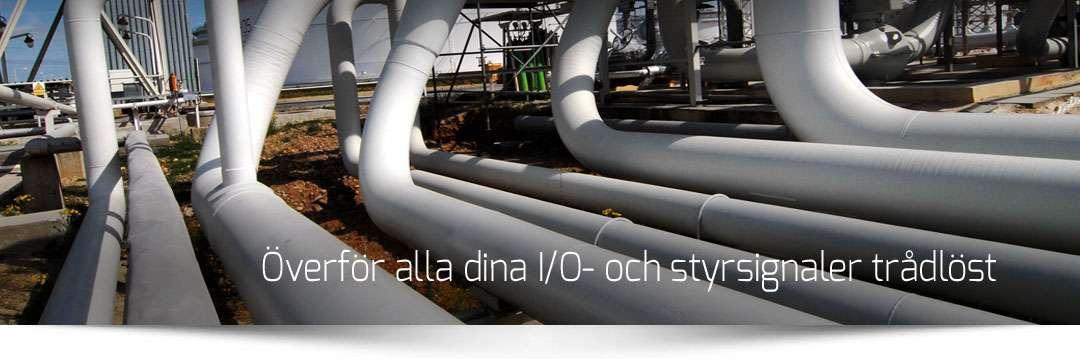 Trådlöst I/O i industrin