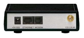 Ethernet och RJ11-port