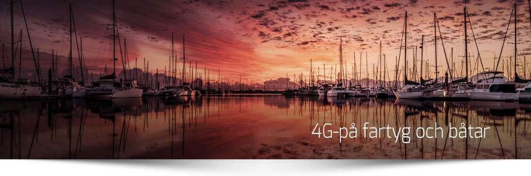4G till båtar och fartyg