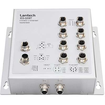 Lantech IES-0208T IP43 switch