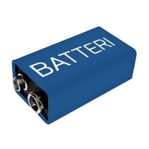 9V/250 MAh Batteri NiMH