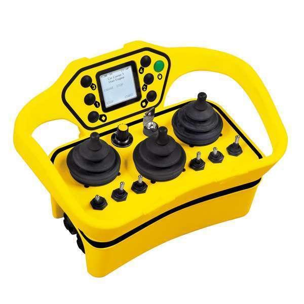 Radiostyrning MOKA midjesändare 3 joystick