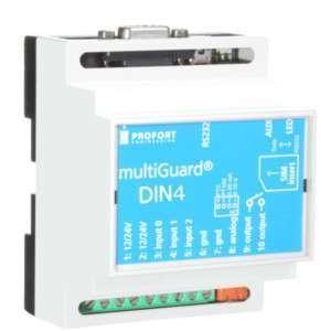 Multiguard DIN4 I/O-sändare