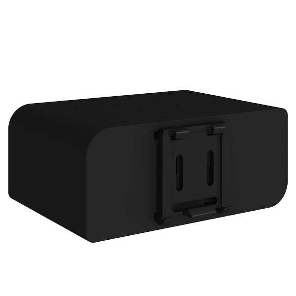 conel-v2 router plast din-fäste på routerns baksida