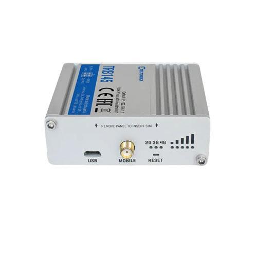 Teltonika TRB145 antennkontakter